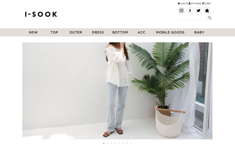 I-SOOKの通販サイト紹介