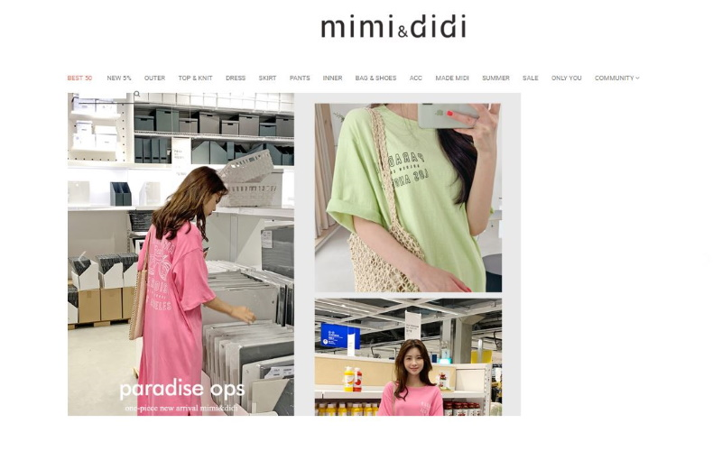 MIMI&DIDI(ミミ&ディディ)の特徴