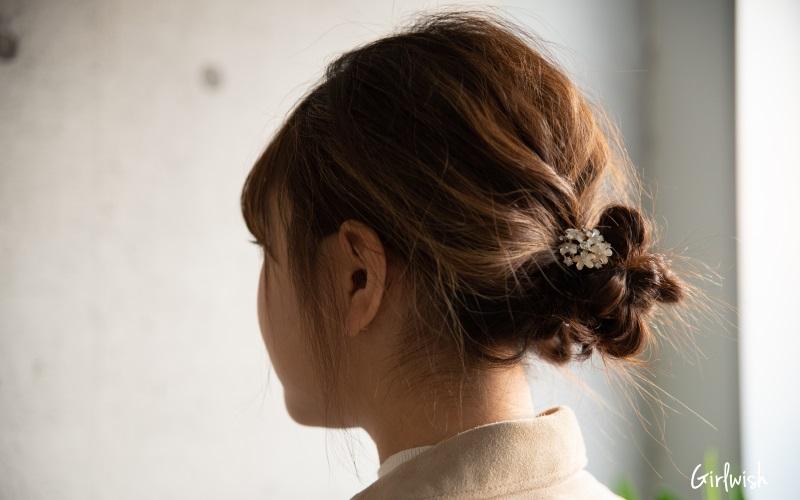 30代・アラサー女性の大人可愛い簡単ヘアアレンジ・ヘアスタイル