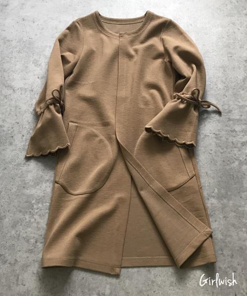 小柄さんでもコートを綺麗に着られる!サイズ合わせの基本ルール♡