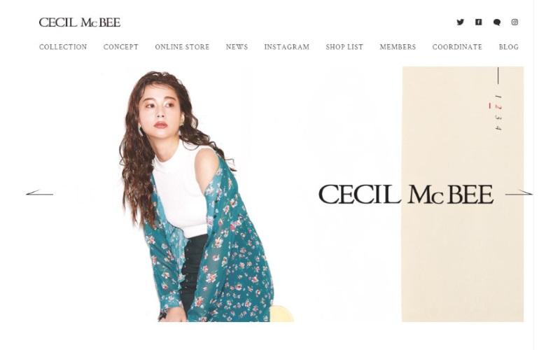 CECIL McBEE(セシルマクビー)